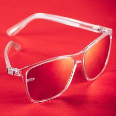 💥 Gi15 St. Pauli clear red! Mehr dazu auf www.gloryfy.com St Pauli, Unisex, Silhouette, Lifestyle, Sunglasses, Red, Collection, Optical Eyewear, Sunnies