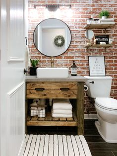 Best Cheap Home Decor Stores Rustic Bathroom Decor Ideas Cheap Home Decor Stores Rustic Bathroom Decor Ideas Round Bathroom Rugs, Diy Bathroom Vanity, Rustic Bathroom Vanities, Victorian Bathroom, Simple Bathroom, Bathroom Ideas, Bathroom Plants, Bathroom Organization, Bathroom Fixtures