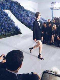 Paris Fashion Week Diary: Dior Spring 2016 | Visual Therapy #visualtherapy #fashion #pfw #dior