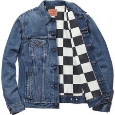 Levi's®/Supreme Trucker Jacket (Washed Blue)