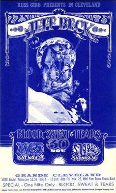 Jeff Beck (Nov.22,23.1971 at Cleveland Grande Ballroom, Cleveland, Ohio)