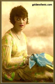 Mabel Normand, Silent Movie Star -slapstick comedy, married to Lew Cody, longtime mistress to Mack Sennett 1895-1927