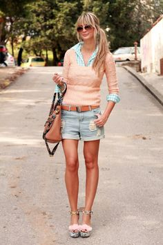 Baby Pastels | not crazy about shoes tho
