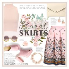 """romantic floral"" by licethfashion ❤ liked on Polyvore featuring WearAll, Louis Vuitton, J.Crew, Dettagli, BaubleBar, Floralskirts, polyvoreditorial and licethfashion"