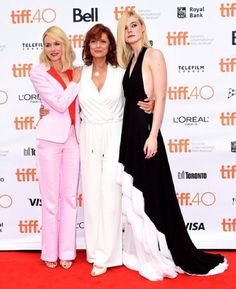 """""""Star power  on the #TIFF15 red carpet today for #AboutRay - Naomi Watts, Susan Sarandon and Elle Fanning #YorkdaleTIFF15"""""""