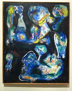 Asger Jorn Nachtelijk visioen (1956)