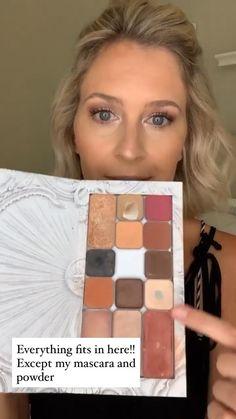 Maskcara beauty Easy Makeup, Simple Makeup, Natural Makeup, Blue Eye Makeup, Makeup For Brown Eyes, Covering Dark Circles, Maskcara Beauty, Prom Makeup, Makeup Routine