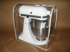Clear Mixer Cover Fits KitchenAid Tilt Head Tan Trim 4 5 5 Qt Stand Mixer | eBay