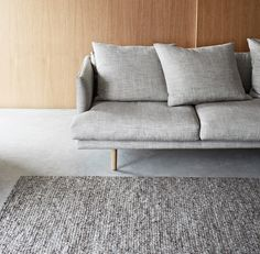 Sierra weave Armadillo & Co rug in Pumice.