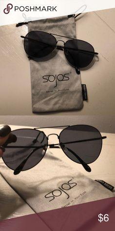 b1c822e0664 SOJOS sunglasses All black Accessories Glasses Sojos Sunglasses