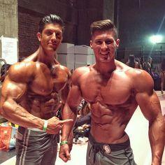 Johnny Sorous and Nimai Delgado