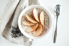 cinnamon & apple overnight oats