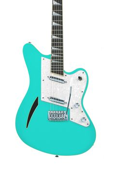 Surfcaster - Seafoam Green - Eastwood Guitars, INC