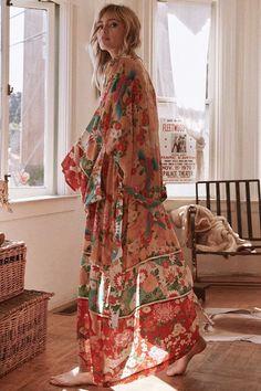 3530434408 Long Shirt Holiday Wind Print Lace Boho Kimono Cardigan  bohemia  life   hashtag