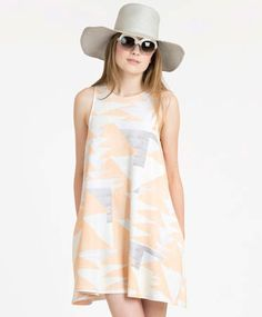 Peach Loom Swing Dress