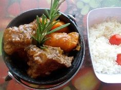 Delicious lamb potjie Meat Recipes, Lamb, Pudding, Beef, Chicken, South Africa, Food, Beef Recipes, Steak Recipes