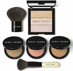 The Bobbi Brown Illuminating Bronze Collection Makeup Bar, I Love Makeup, Kiss Makeup, Pretty Makeup, Makeup Ideas, Makeup Tips, Hair Makeup, Beauty Tips For Hair, Beauty Make Up