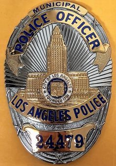 Lapd Badge, Police Officer Badge, Police Badges, Police Uniforms, Fire Badge, Weapon Storage, Federal Law Enforcement, Private Sector, Movie Props