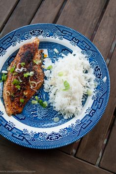 Blackened catfish #recipe