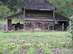 The barn at the Exchange Place- Kingsport, Tennessee in the Orebank community.