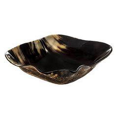 Square Horn Bowl - Fruit Bowl - Serving Bowls - Decorative Bowls | HomeDecorators.com