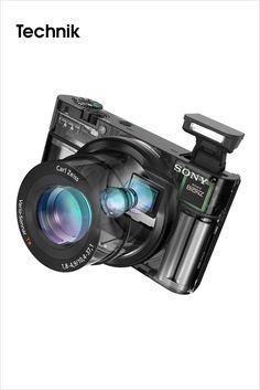 SONY • Großer Sensor für beste Bildqualität: die neue Cyber-shot RX100 Kamera von Sony    Man nehme einen viermal größeren Bildsensor, ein extrem lichtstarkes Objektiv und neuste Prozessortechnologie – fertig ist die neue Kamera von Sony. Sie ermöglicht Aufnahmen mit 20,2 Megapixel in einer für die Cyber-shot Familie noch nie dagewesenen Bildqualität und verfügt über intelligente Einstellmöglichkeiten, die Fans von...    Bilderserie anzeigen: http://www.imagesportal.com/home20.php