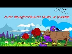 Old Macdonald Had A Farm | Kids Rhyme