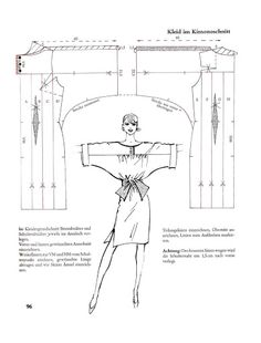 Systemschnitt 01 - elisa - Picasa Albums Web Q1 #платье-туника #летучая_мышь #платье