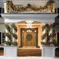 Estate Pre-lit Greenery Collection #Christmas