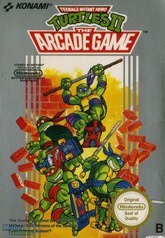 Turtles II - The Arcade Game (NES)