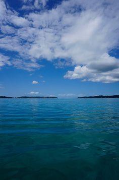 Sailing Kawau Bay, New Zealand, North Island.