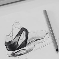 resources I. resources — davidhardie: Quick practice sketch - biro and. resources — davidhardie: Quick practice sketch - biro and. Shoe Sketches, Drawing Sketches, Drawings, Sketching, Sketch Inspiration, Design Inspiration, Sneakers Sketch, Futuristisches Design, Sketch A Day