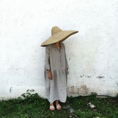 Ichi Antiquities dress, Patricia Larsen and Palapa hat from Le Marche St. George