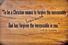 To be a Christian . . . [Can't get enough of C. S. Lewis quotes].