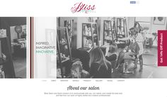 Dots Design, Web Design, Dot Website, Kennewick Washington, Check It Out, Bliss, Salons, Innovation, Spa