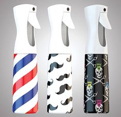 Father's Day Gift Ideas: Stylist Sprayers! These handy sprayers have a continuous spray from any angle! More designs available in store! #stylistsprayers #barber #stylist #fathersday #giftideas #alamobarber #sanantonio #trxas #ohnine