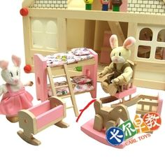 taobao find: small doll house furniture 24rmb