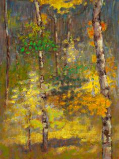 Rick Stevens, Witness to a Rustling Breeze, Oil on Linen, Framed 17 x 13 Abstract Nature, Abstract Landscape, Landscape Paintings, Landscapes, Best Abstract Paintings, Oil Painting Abstract, Tree Paintings, Contemporary Landscape, Contemporary Paintings