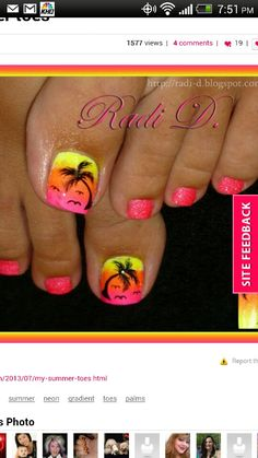 Hawaii Nails!