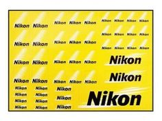 New-Nikon-Official-Product-LOGO-Sticker-label-JAPAN-Exclusive-Limited-Camera-F-S