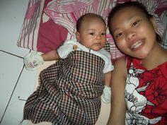 w/ my son Raditya