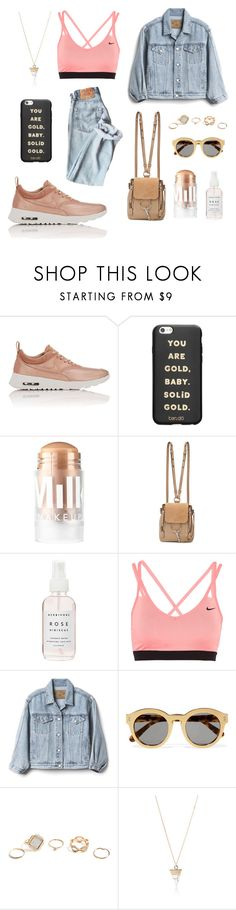 """street pink"" by lanagur on Polyvore featuring мода, NIKE, ban.do, MILK MAKEUP, Chloé, Herbivore, Gap, STELLA McCARTNEY, GUESS и Simons"