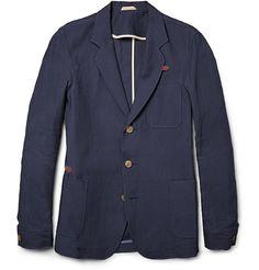 Oliver SpencerFulmar Slim-Fit Linen Suit Jacket|MR PORTER ($200-500) - Svpply