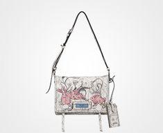 7262261b1d6e Nylon shoulder bag. Prada HandbagsPrada BagLeather HandbagsBunny ...