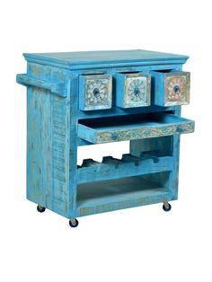 SIT Möbel Küchenwagen Blue kaufen im borono Online Shop