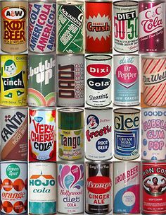 Cool Vintage Soda Cans
