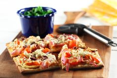 Vege Pizza Flatbread