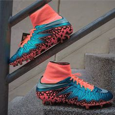 """Double tap for these Salmon Hypervenoms! """
