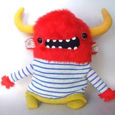 Happy chap monster