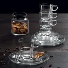 Leonardo Senso 17-delige koffieset Wedgwood, Mason Jars, Mugs, Chocolate, Coffee, Tableware, Dinnerware, Tumbler, Schokolade